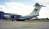 RA-76382 @ LHBP - Ilyushin IL-76TD [0023436048] (Atlant) Budapest-Ferihegy~HA 15/06/1996