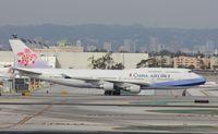 N168CL @ KLAX - Boeing 747-400