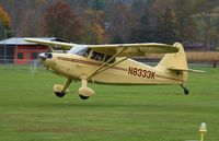 N8333K @ PA40 - Departing a fly-in lunch at Benton, Pa - by Melvin Reed