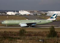F-WWKH @ LFBO - C/n 1567 - For Cathay Pacific - by Shunn311
