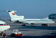 CCCP-85374 @ LMML - Tupolev Tu154 CCCP-85374 Aeroflot - by Raymond Zammit