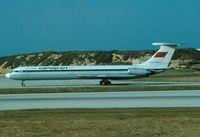 CCCP-86477 @ LMML - Ilyushin IL-62 CCCP-86477 Aeroflot - by Raymond Zammit