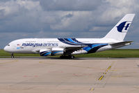 9M-MNF @ LFPG - Malaysia Airlines - by Martin Nimmervoll