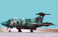 XX887 @ LMML - HS Buccaneer S.2B XX887/N of 15Sqd RAF parked at RAF Luqa Malta.