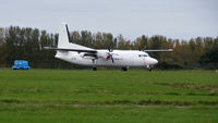 LN-RNE @ NWI - Seen here at Norwich International Airport. October, 2010. - by Alec Blyth