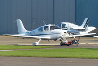 G-ELKE @ EGBJ - G-ELKE at Staverton, the day after being registered - by GTF4J2M