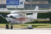 F-GAQO @ LFRU - Reims F172M Skyhawk, Morlaix-Ploujean Regional Airport (LFRU-MXN) - by Yves-Q