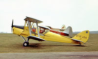 G-AJOA - De Havilland DH.82A Tiger Moth [83167] (Place and date unknown). From a slide. - by Ray Barber