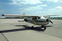 SE-CXK @ EHGG - Cessna 175B Skylark [56888] Groningen-Eelde~PH 09/06/1982. From a slide.