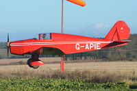 G-APIE @ X3CX - About to land at Northrepps. - by Graham Reeve