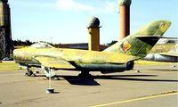 615 @ EDBG - Mikoyan-Gurevich Lim-5P [1D-02-08] (East German Air Force) Berlin-Gatow~D 20/05/1998 - by Ray Barber