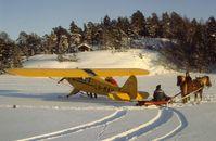 LN-MAV - On the ice near Tønsberg,  Norway - by Helge Brun