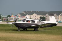 N1067W @ KOSH - Mooney M20J - by Mark Pasqualino
