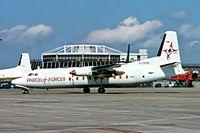 G-CEXB @ EIDW - Fokker F-27-500 Friendship [10550] (Channel Express) Dublin~EI 15/05/1997