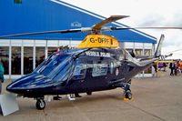 G-DPPF @ EGSU - Agusta A-109E Power [11216] (Dyfed-Powys Police Authority) Duxford~G 23/09/2003
