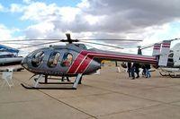 N958SD @ EGSU - McD-D Helicopters MD-600N [RN018] Duxford~G 23/09/2003