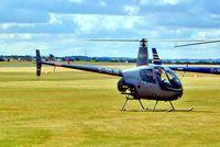 G-ODJB @ EGSU - Robinson R-22 Beta II [3463] Duxford~G 23/09/2003