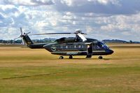 N492SA @ EGSU - Sikorsky S-92A [920004] (Sikorsky Aircraft Corporation) Duxford~G 23/09/2003