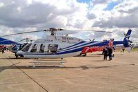 G-GAJW @ EGSU - Bell 407 [53186] Duxford~G 23/09/2003