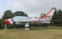 52-6486 @ AZO - F-84F Thunderstreak - by Florida Metal