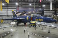 141872 @ AZO - F-11A Tiger in Blue Angels colors - by Florida Metal