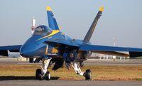 163498 @ NIP - Blue Angels F-18C