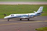 D-CAMS @ EDDL - Cessna Citation V [560-0243] (Triple Alpha) Dusseldorf~D 10/09/2005 - by Ray Barber
