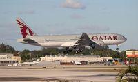A7-BBF @ MIA - Qatar 777-200LR - by Florida Metal