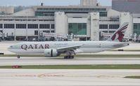 A7-BBH @ MIA - Qatar 777-200LR - by Florida Metal