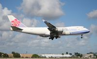 B-18707 @ MIA - China Airlines Cargo 747-400