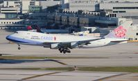 B-18712 @ MIA - China Airlines Cargo 747-400