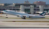 B-LJJ @ MIA - Cathay Cargo 747-8