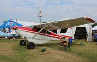 N1318P @ KOSH - Cessna 185D - by Mark Pasqualino