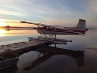 C-GHYF - Early October ....Pink Lake Sask - by Dan Dennis
