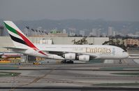 A6-EEP @ KLAX - Airbus A380-800 - by Mark Pasqualino