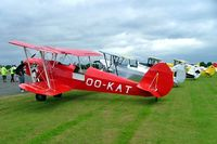OO-KAT @ EGSX - SNCAN Stampe SV.4C [416] North Weald~G 21/06/2008. Showing a lineup of 4 Stampe's.