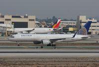 N589UA @ KLAX - Boeing 757-200 - by Mark Pasqualino