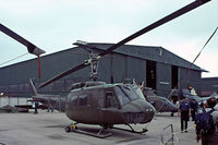 AE-422 @ EGDY - Bell UH-1H Iroquois [13844] (Argentine Air Force) RNAS Yeovilton~G 31/07/1982. From a slide. - by Ray Barber