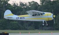 CF-KCS @ LAL - Cessna 195 - by Florida Metal