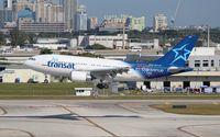 C-GPAT @ FLL - Air Transat A310