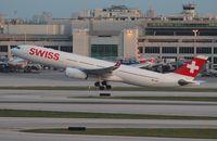HB-JHK @ MIA - Swiss A330
