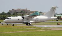 HK-5071-X @ FXE - Easy Fly Colombia without titles ATR-42 on a delivery flight stopping off at FXE