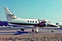 G-AWVK @ EGKB - Handley Page HP.137 Jetstream Series 200 [208] (Decca) Biggin Hill~G 17/05/1975. From a slide.