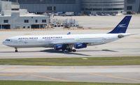 LV-BMT @ MIA - Aerolineas Argentinas