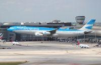 LV-CSF @ MIA - Aerolineas Argentinas