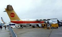 G-BNKJ @ LFPB - British Aerospace BAe 146-200 [E2069] (British Aerospace) Paris-Le Bourget~F 15/06/1987