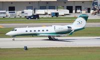 N37WH @ FLL - Gulfstream IV