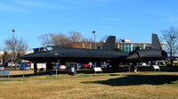 61-7968 @ KRIC - SR-71A at the Virginia Air Museum - by Ronald Barker