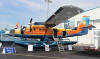 N77TF @ ORL - Viking Twin Otter with cool paint