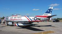 N86FR @ SUA - F-86 at Stuart Airshow